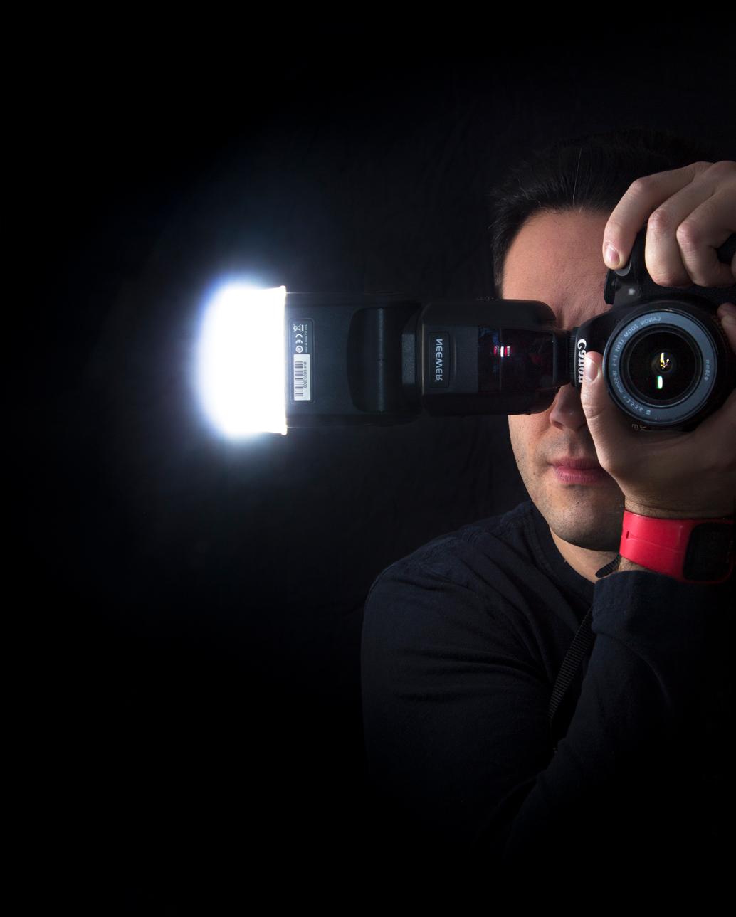 Fotografía con flash de Luis Miguel Azorín de Natural Portraits
