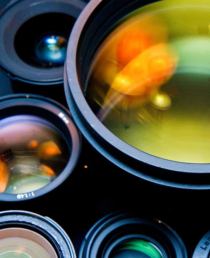 Objetivos y lentes para fotografía