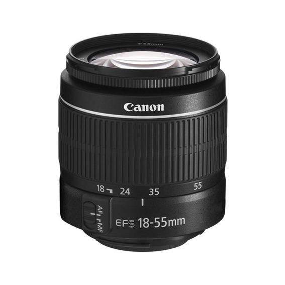 Objetivo fotográfico Canon EFS 18-55 III sin estabilizador