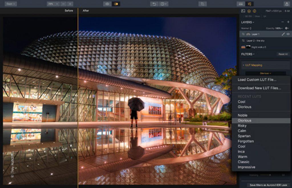 Fotografía de ejemplo del programa Aurora HDR de Skylum