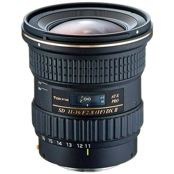 Objetivo fotográfico ultra angular Tokina 11-16 Pro DXII 2.8 para Canon