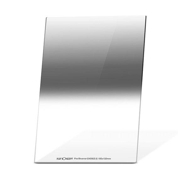 Filtro fotográfico degradado inverso de 3 pasos K&F Concept