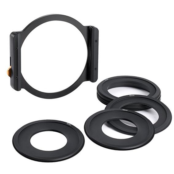 Portafiltros K&F Concept para fotografía con filtros cuadrados de 100mm