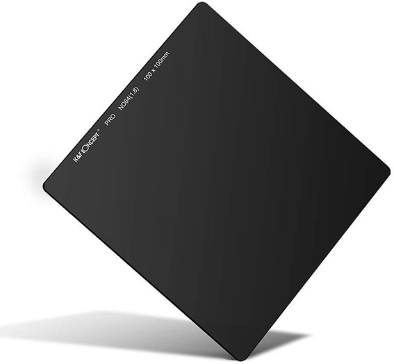 Filtro ND de densidad neutra cuadrado K&F Concept 6 pasos