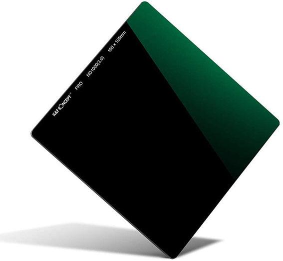 Filtro ND de densidad neutra cuadrado K&F Concept 10 pasos