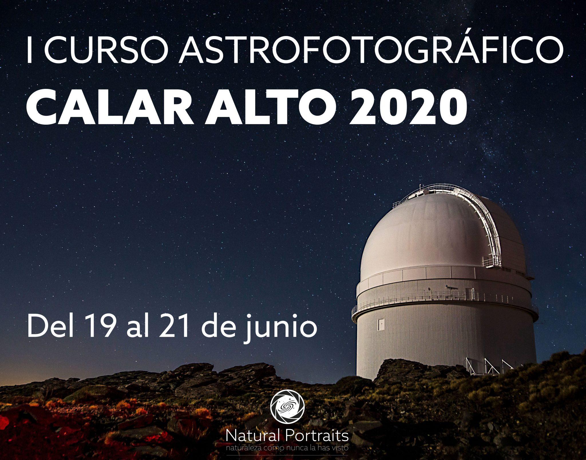 I Curso Astrofotográfico Calar Alto 2020